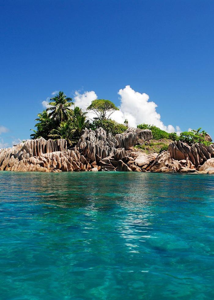 St Pierre Island off the coast of Praslin