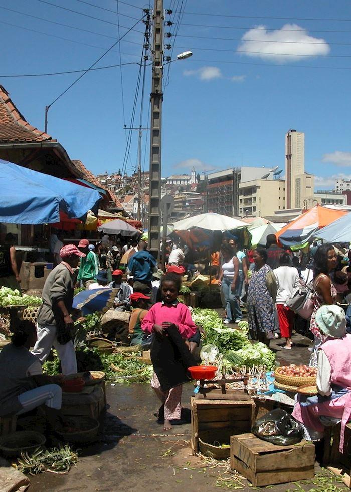 Market Antananarivo, Madagascar