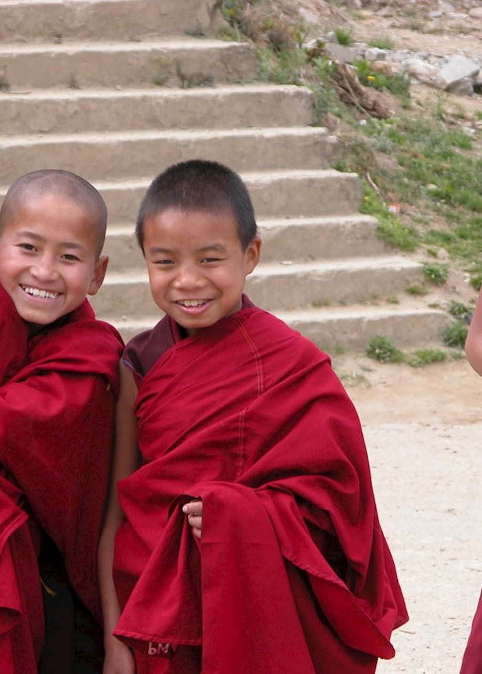 Boy monks, Thimpu