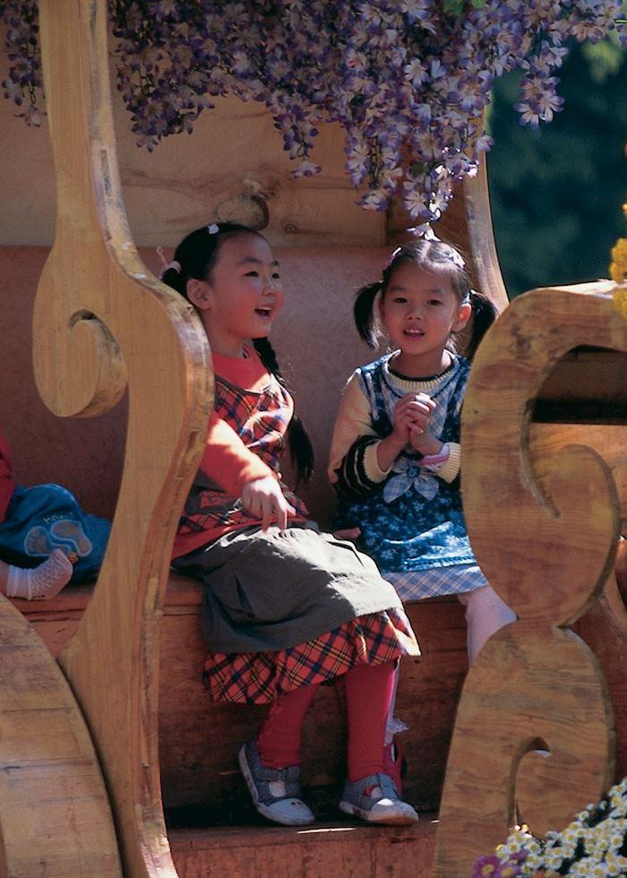 Children playing, Kunming