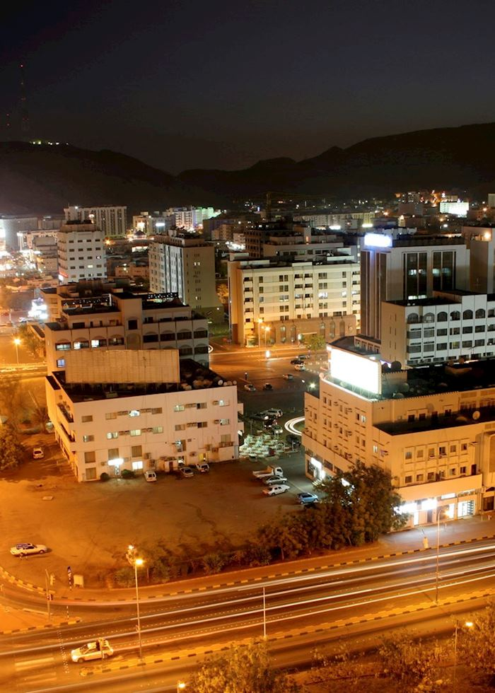 City view at night, Muscat