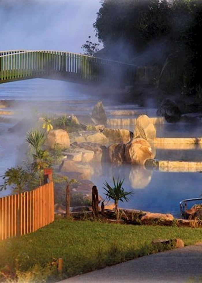 Wairakei Thermal Hot Pools, Lake Taupo, New Zealand