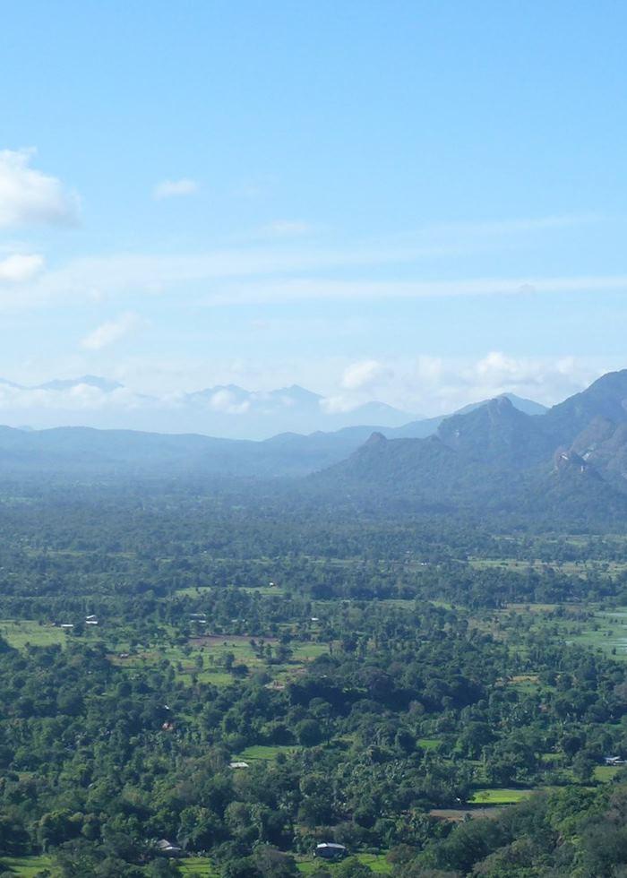 The view from Sigiriya