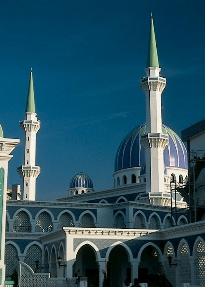 Mosque in the Old Quarter, Kuching, Sarawak