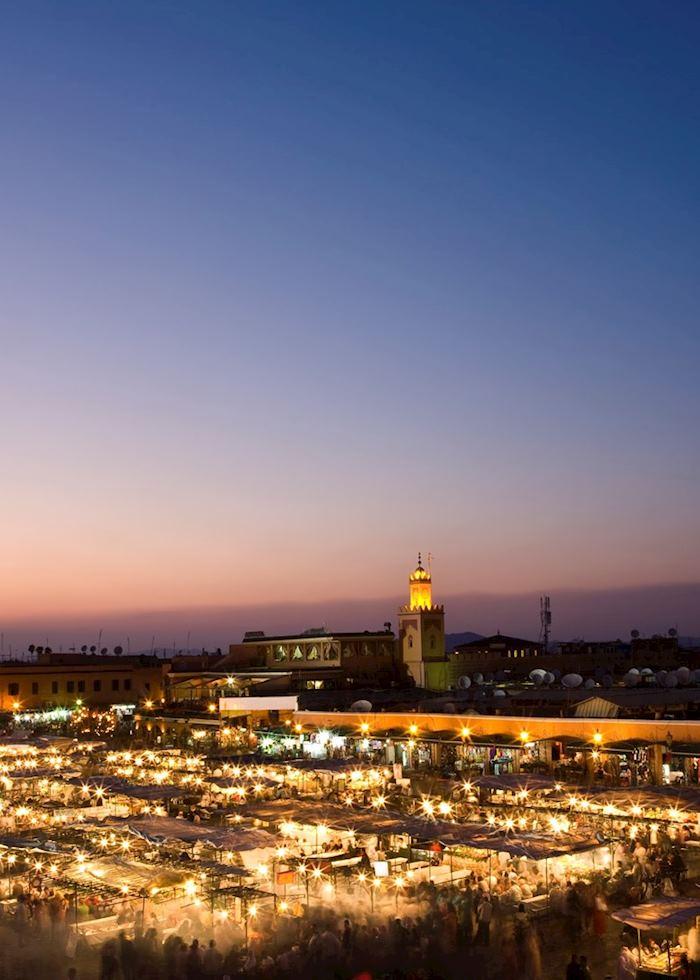 Djemma el Fna, Marrakesh, Morocco
