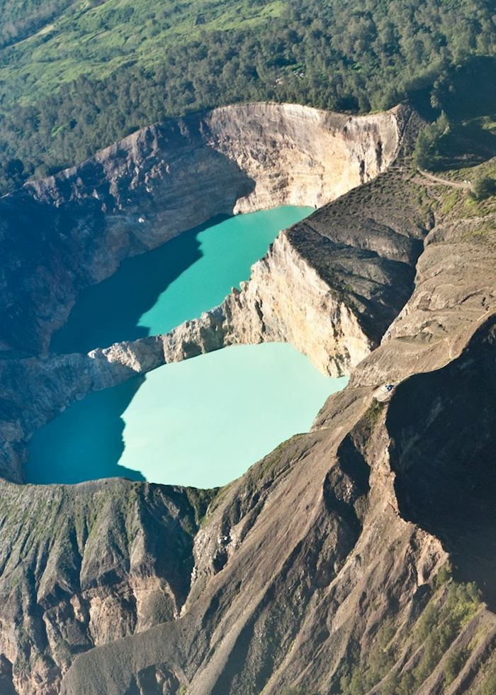 Crater lakes of Kelimutu, Flores, Indonesia