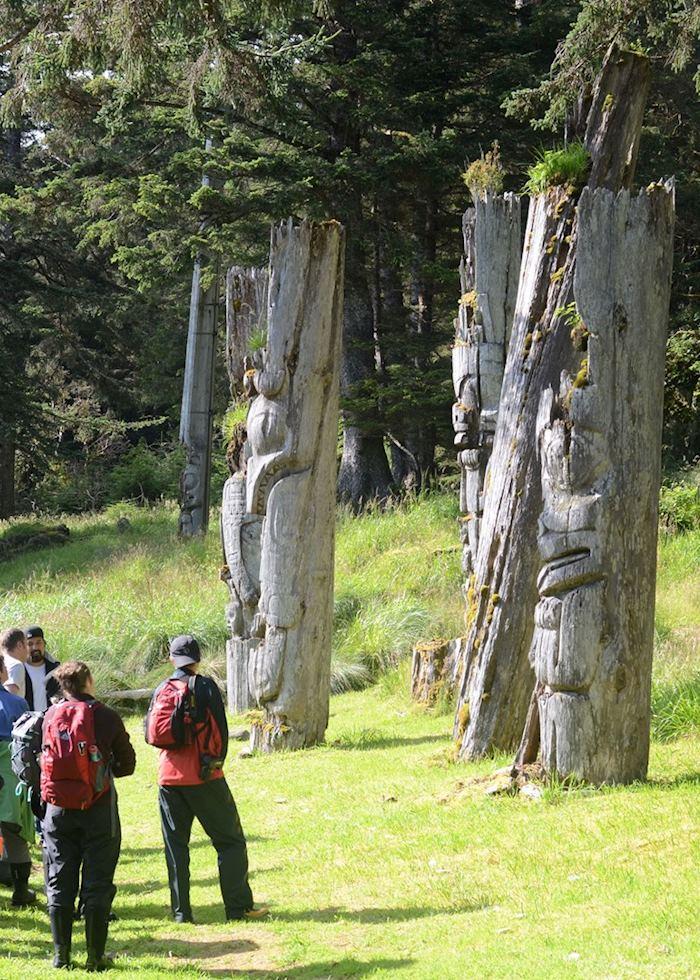 Sgang Gwaay Haida village, Haida Gwaii