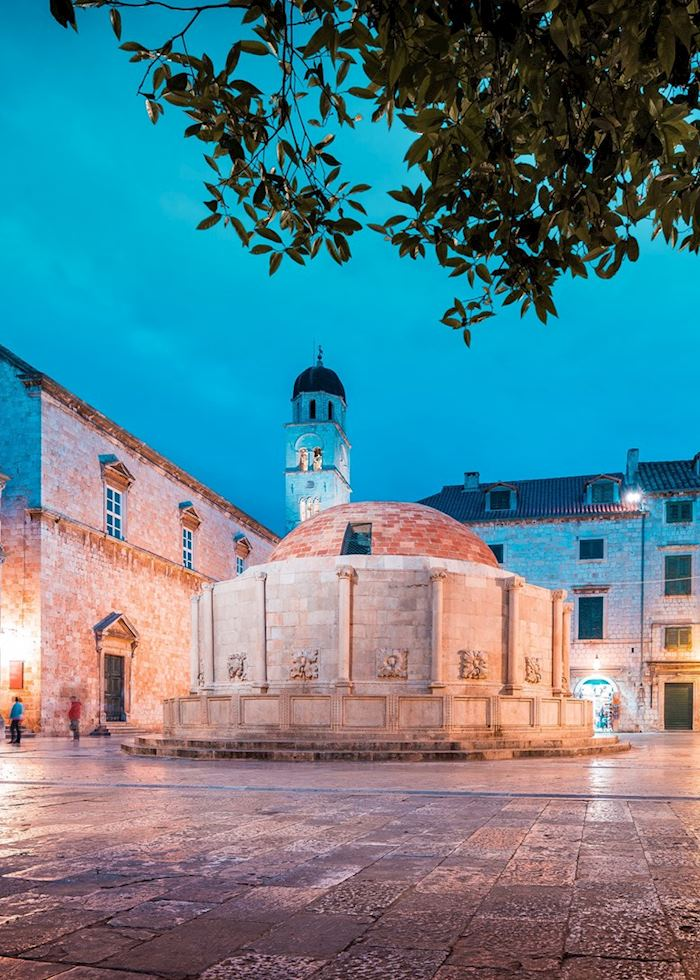 Onofrio's Fountain, Dubrovnik