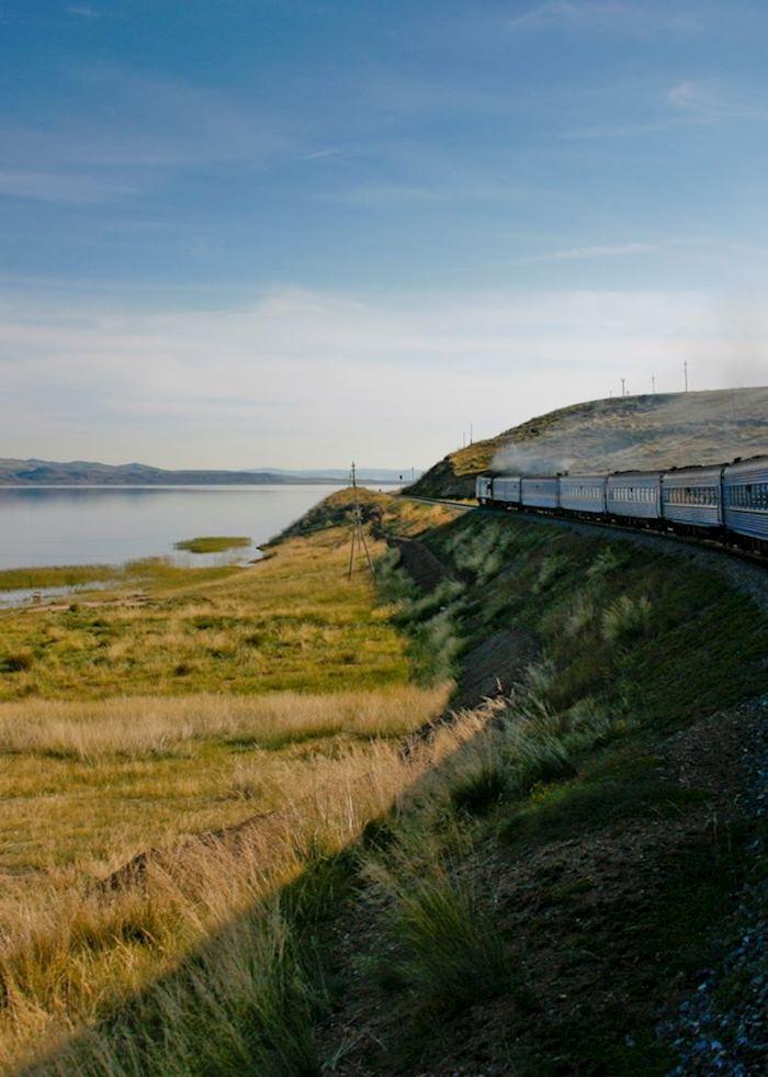 Golden Eagle Luxury Train, Trans Siberian Railway