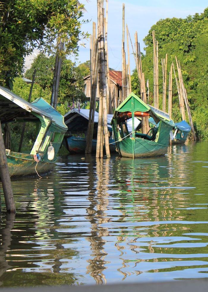 Kuching River, Malaysian Borneo