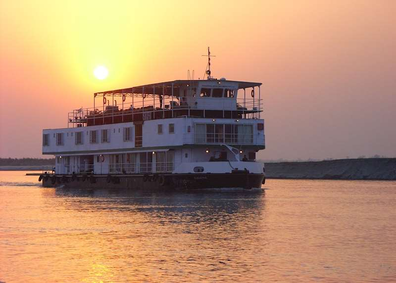 River cruises in India