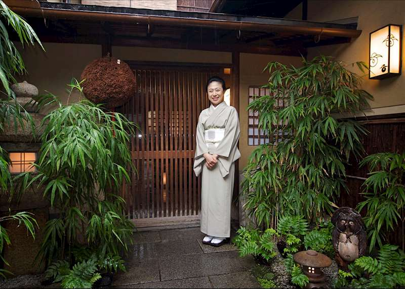 Stay in a ryokan