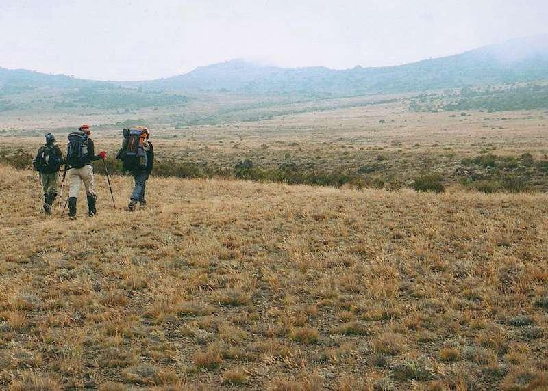 Trekking in Tanzania