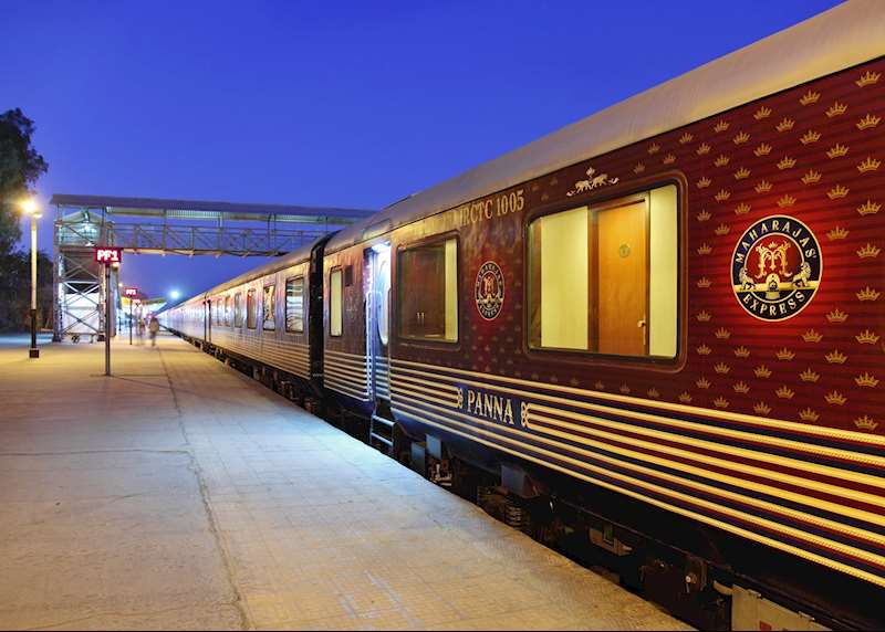 Luxury train journeys through India