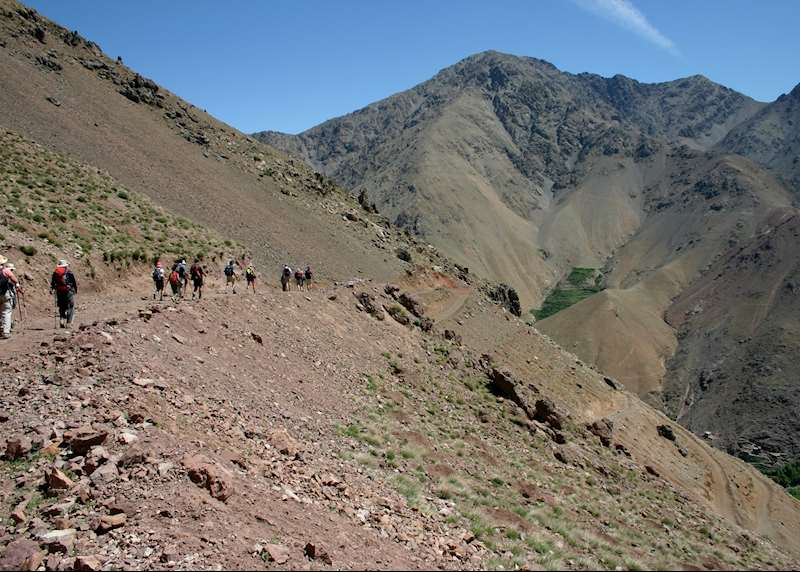 Walking and trekking holidays in Morocco