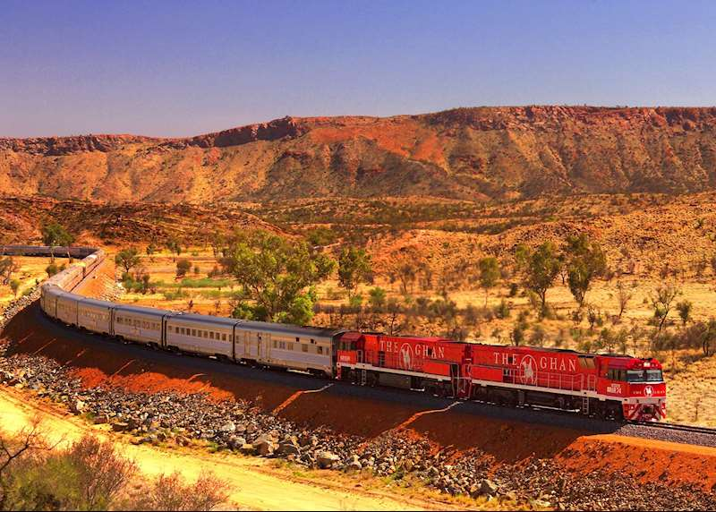 Railway journeys in Australia