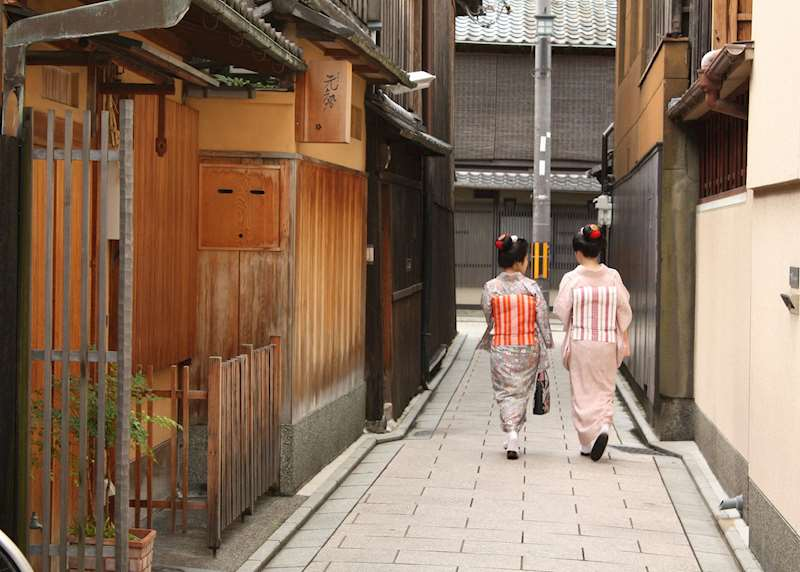What it's like to stay in a machiya, a traditional Kyoto townhouse