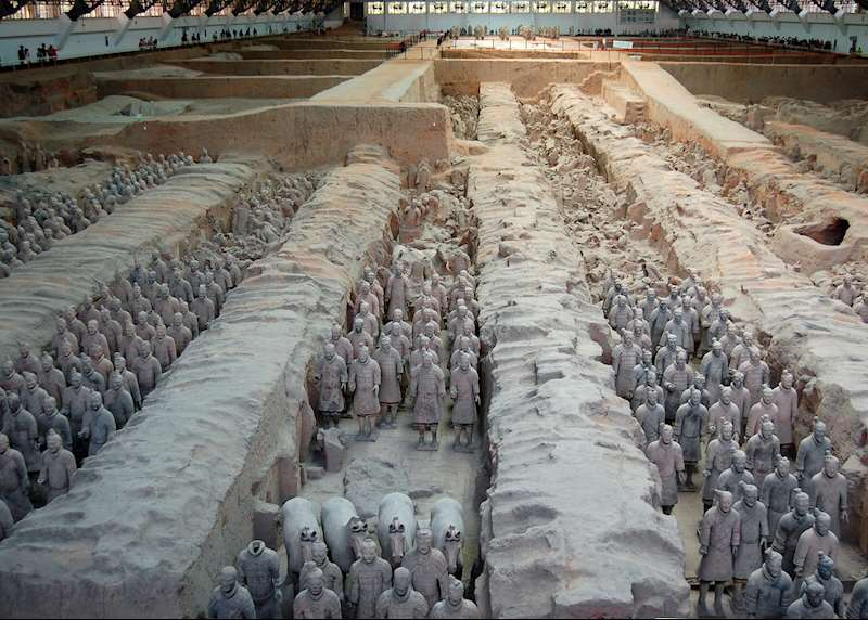 Visit the Terracotta Warriors