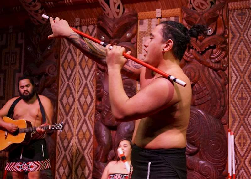 Experiencing New Zealand through Maori eyes